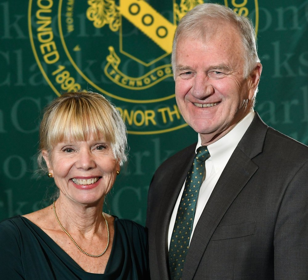 Karen Collins and President Tony Collins  Commencement: December 2018