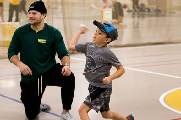 Community Connections - Clarkson University's Student Athlete Advisory Committee (S.A.A.C.) held a kids-athlete afternoon at the IRC Field House . Read more
