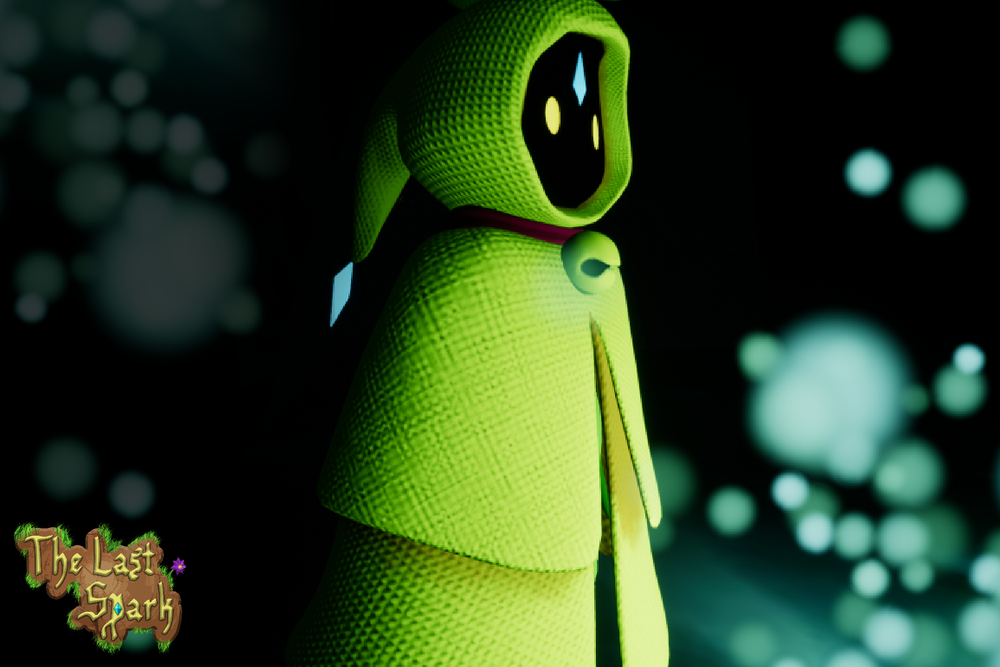 The final in game model of Spark. Modeled by Taylor Crook, Animated by Denys Antipenko.