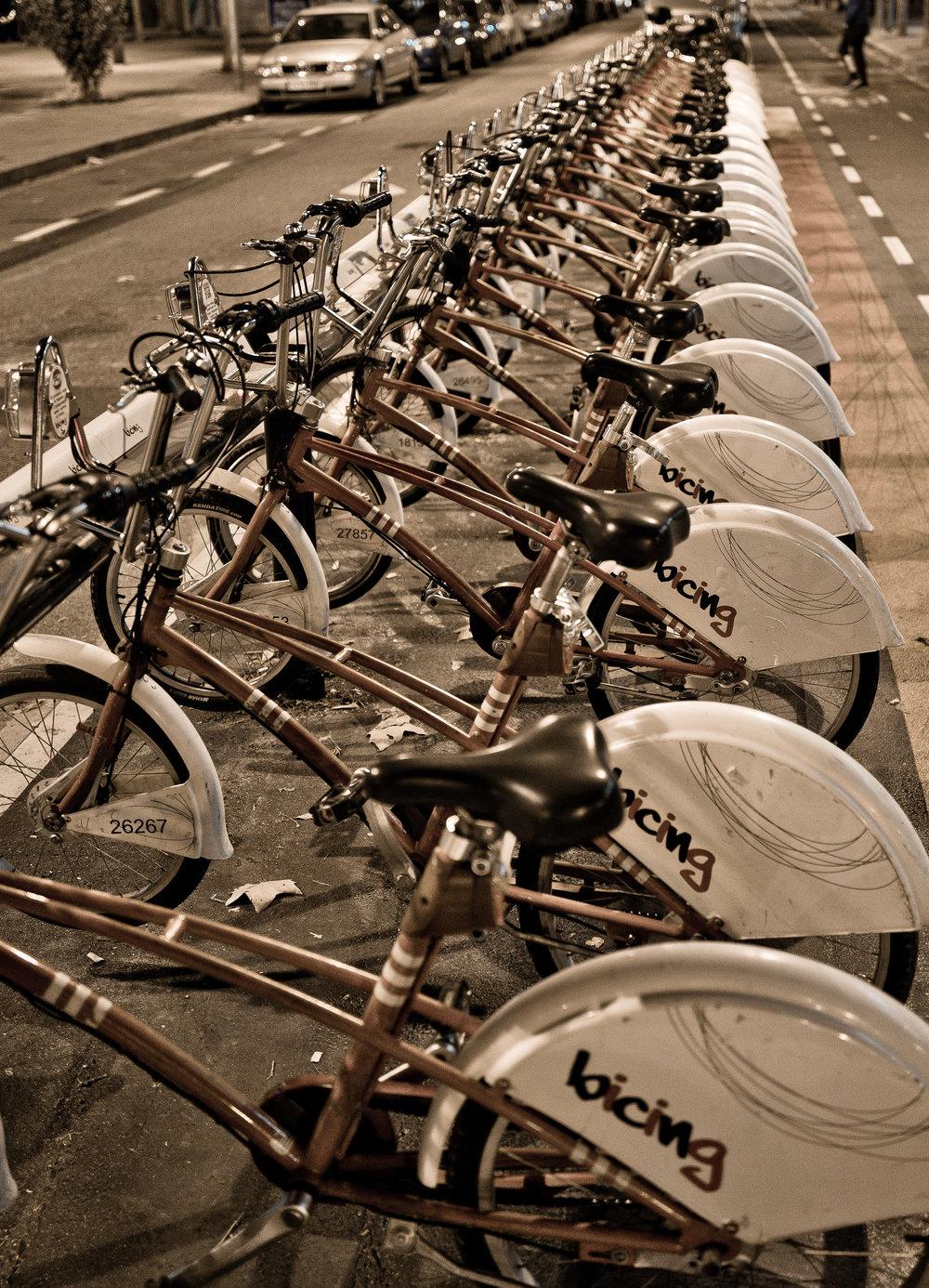 Boris Bikes, Barcelona, Leica Q