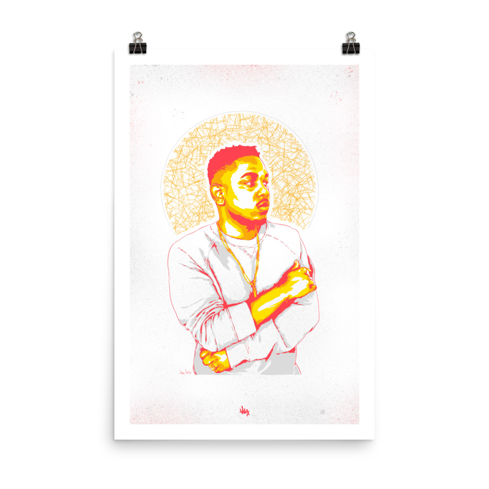 'Kendrick' - Portrait Illustration
