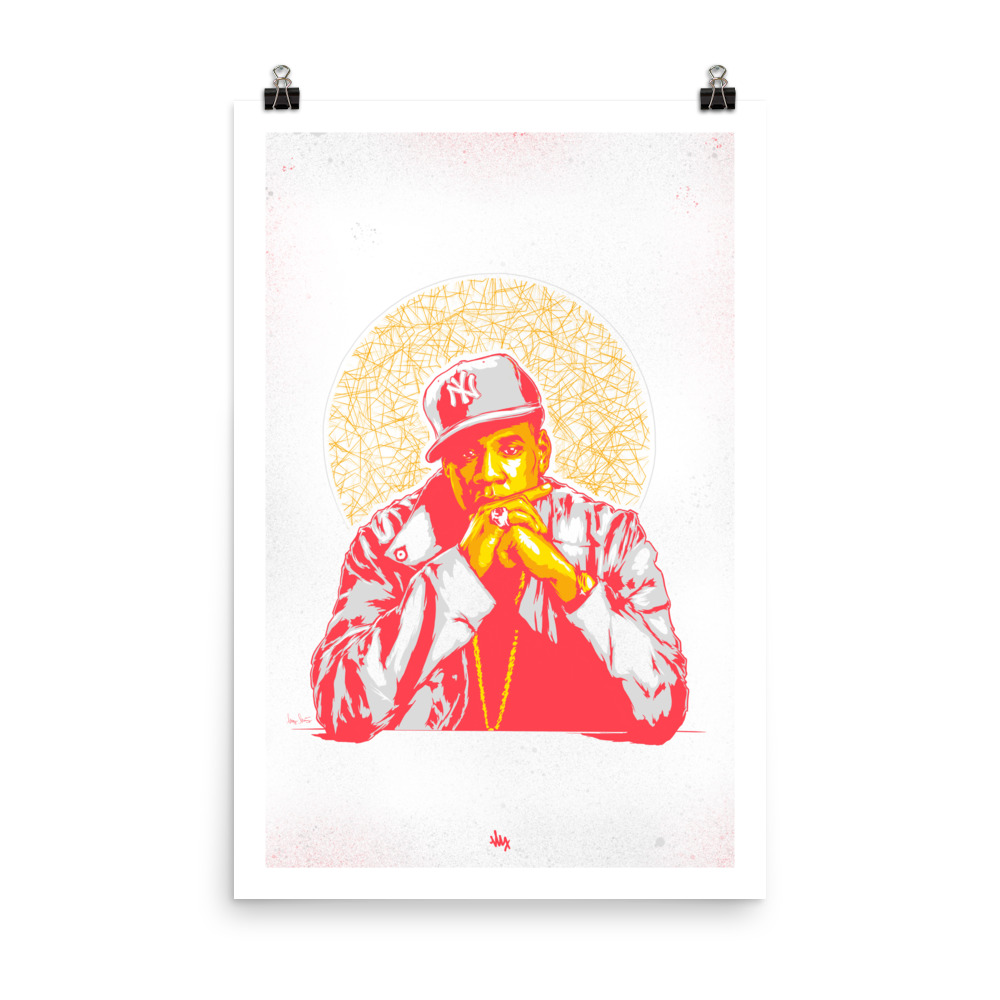 'HOVA' - Portrait Illustration