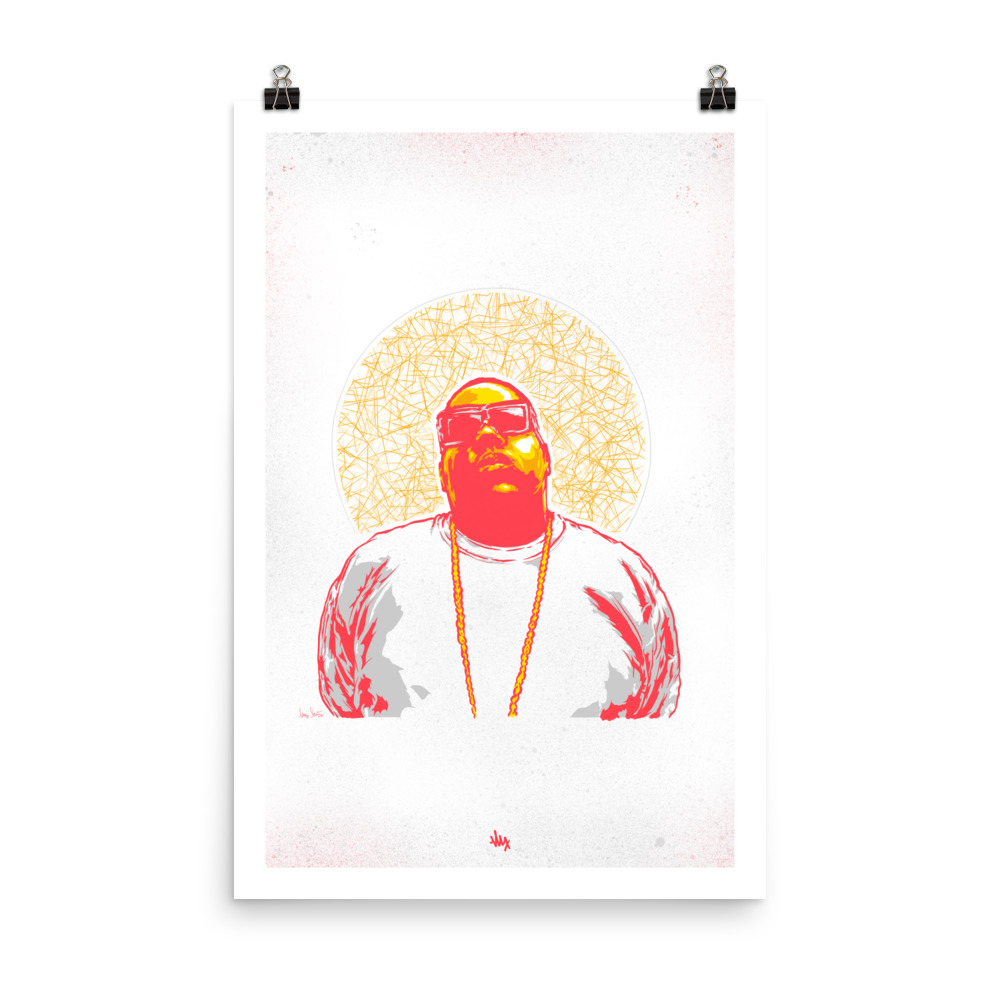 'Biggie' Portrait Illustration