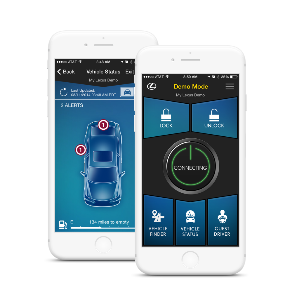 Designing the First Lexus Keyless Car Remote Mobile App