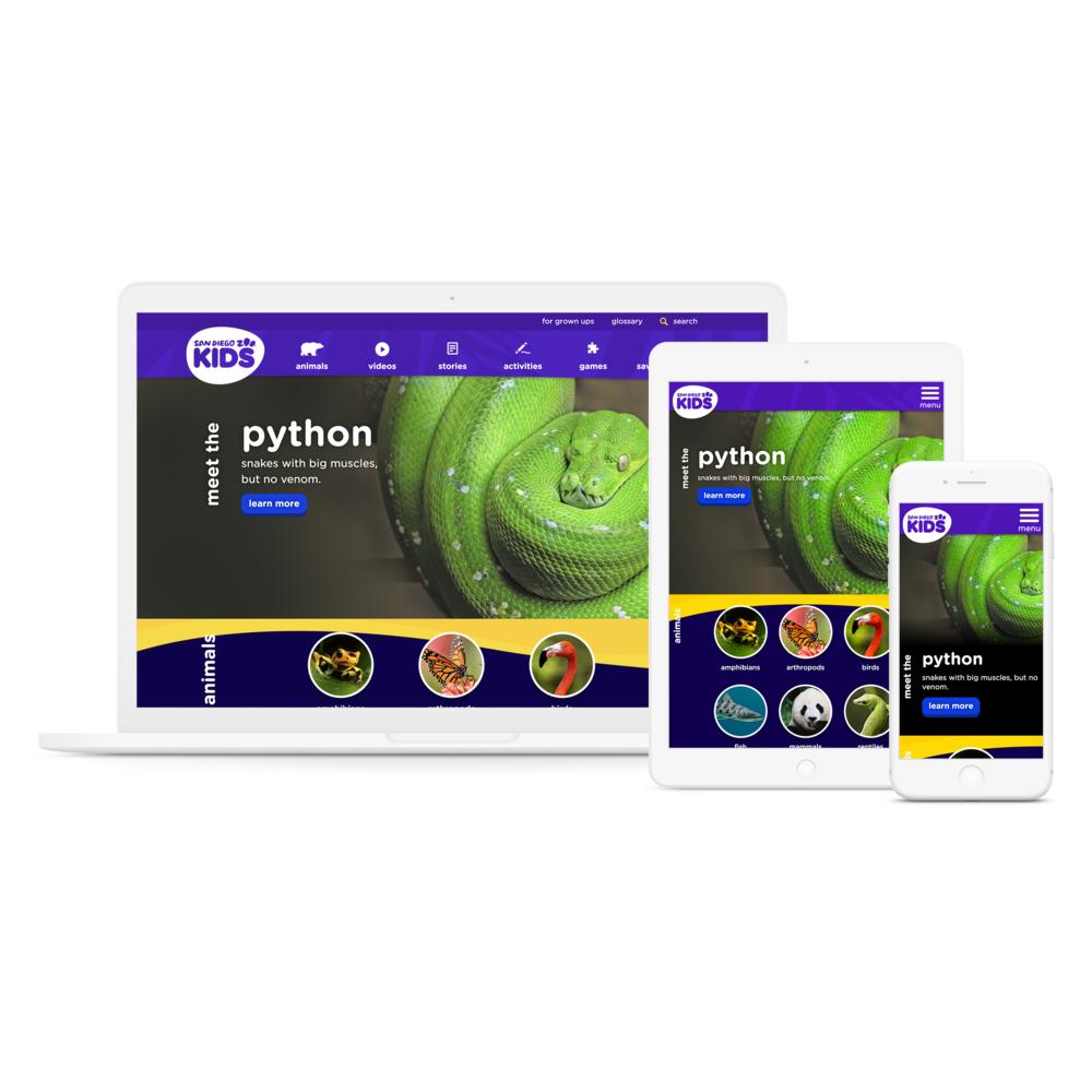 Overhauling SDZ Kids CX to Align with Gen Z Mobile Behavior