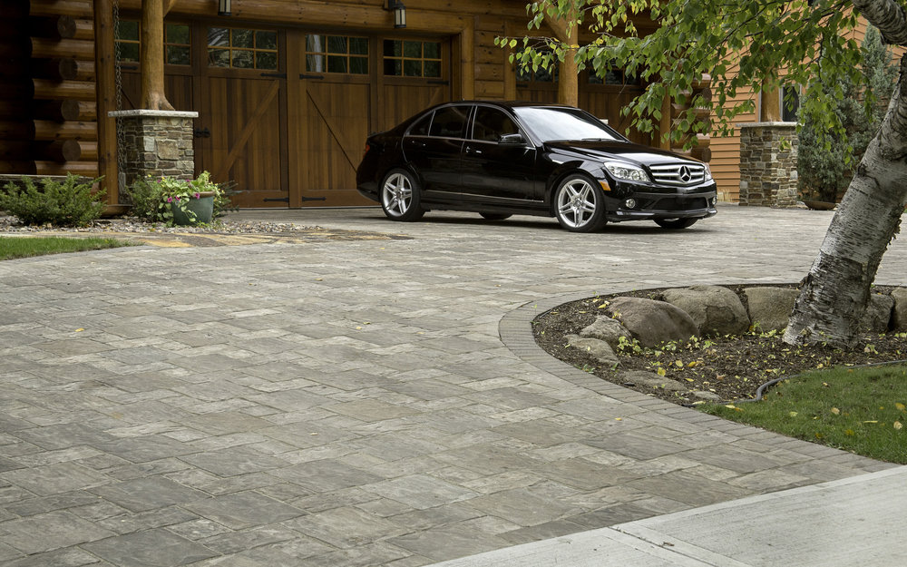Brick pavers and driveway in Madison WI