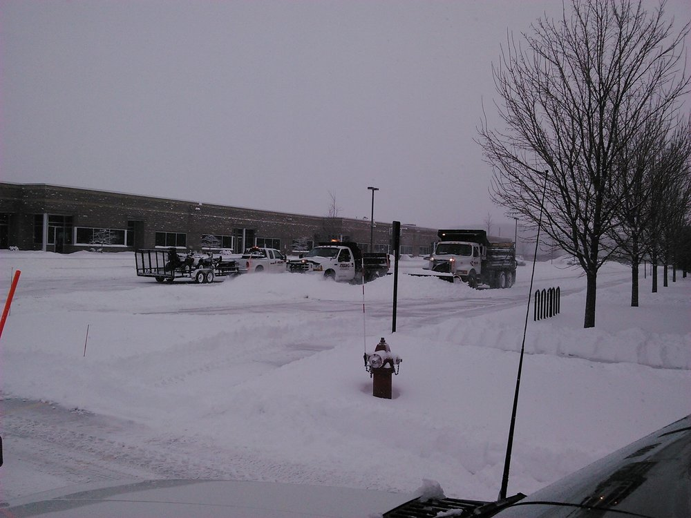Commercial snow removal in Madison WI