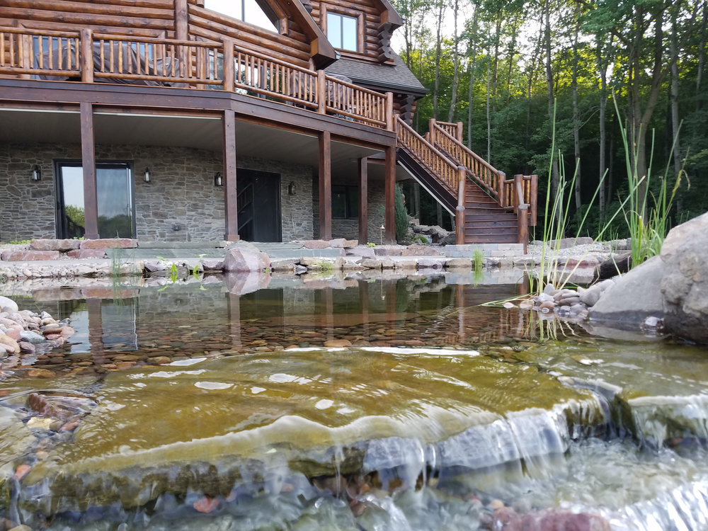 Ponds and water features in Madison WI