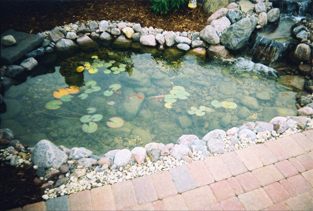 Spring cleaning of ponds keeps them functioning well and increases enjoyment through the summer season