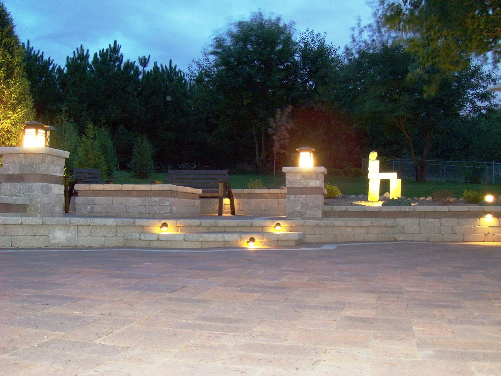 Landscape lighting can add elegance and safety to any home in Madison WI