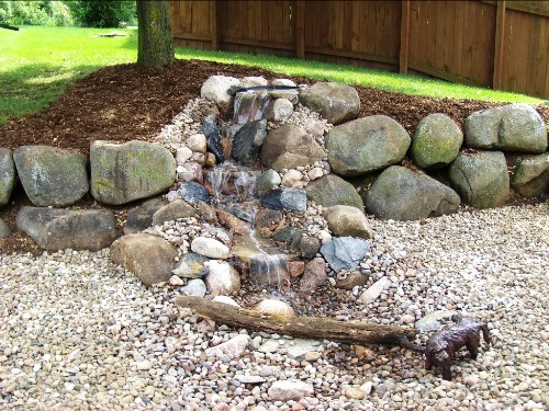 Bring the sounds and sight of running water into your landscape with a unique design that fits anywhere.