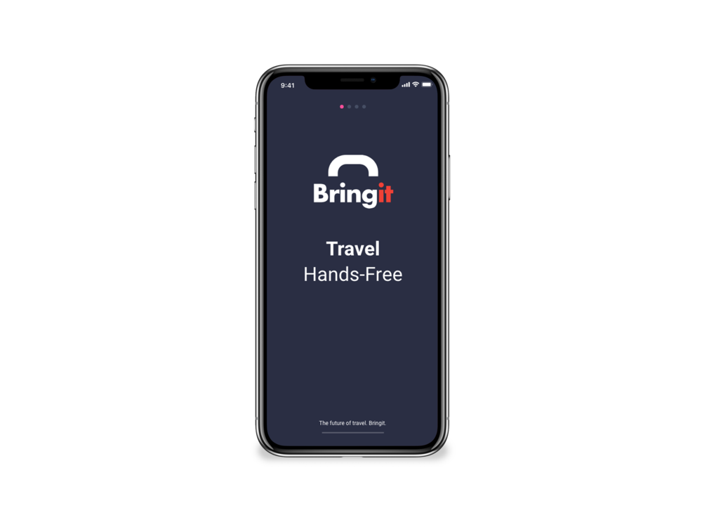 Everybody loves to travel, but nobody likes to carry the luggage - That's why we created Bringit.
