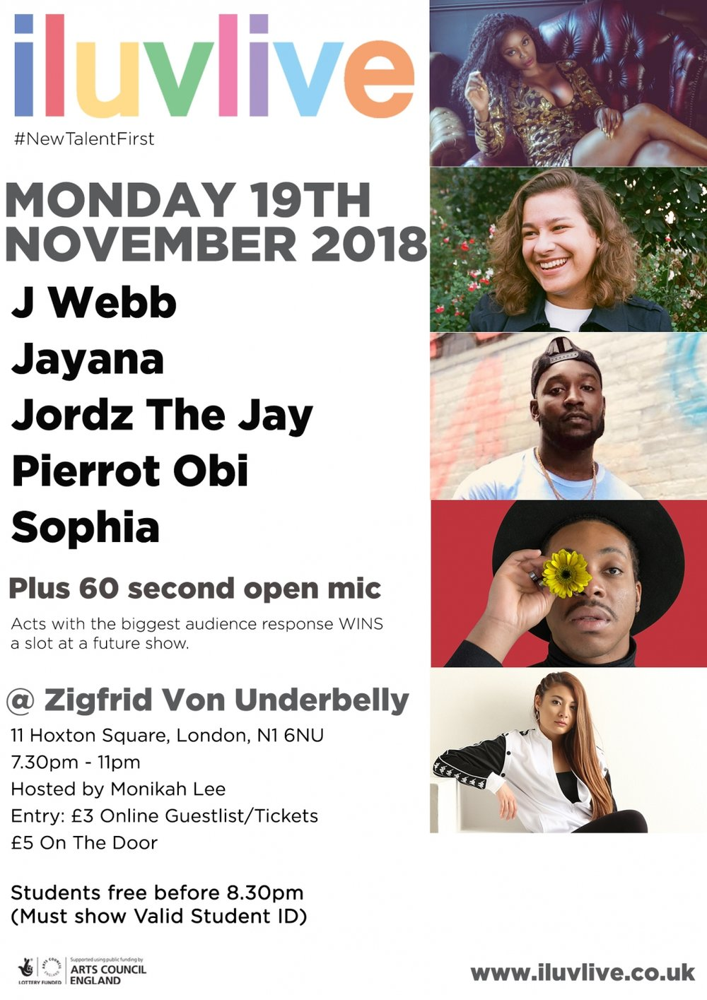 iluvlive november zigfrid underbelly