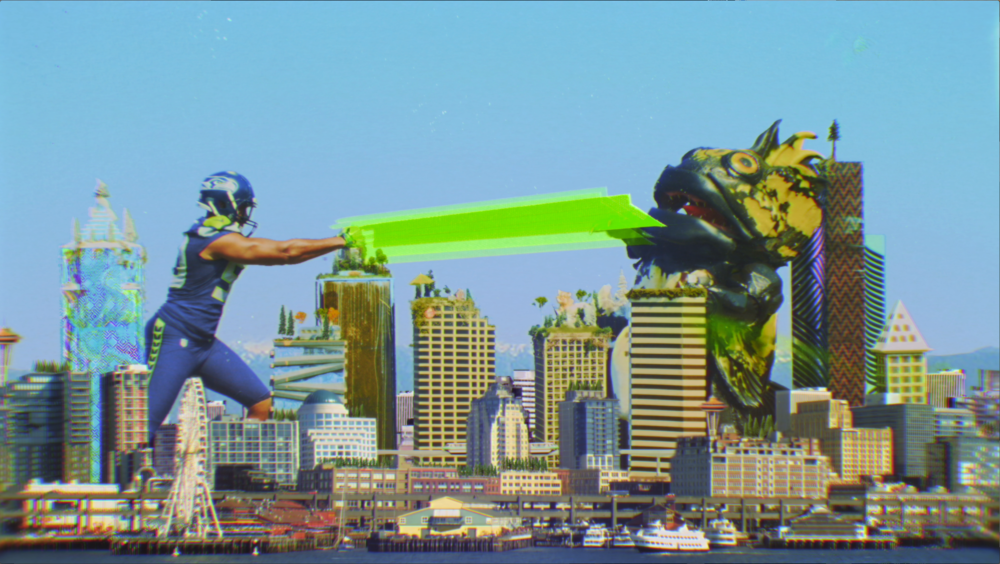 SEAHAWKS VS MONSTERS