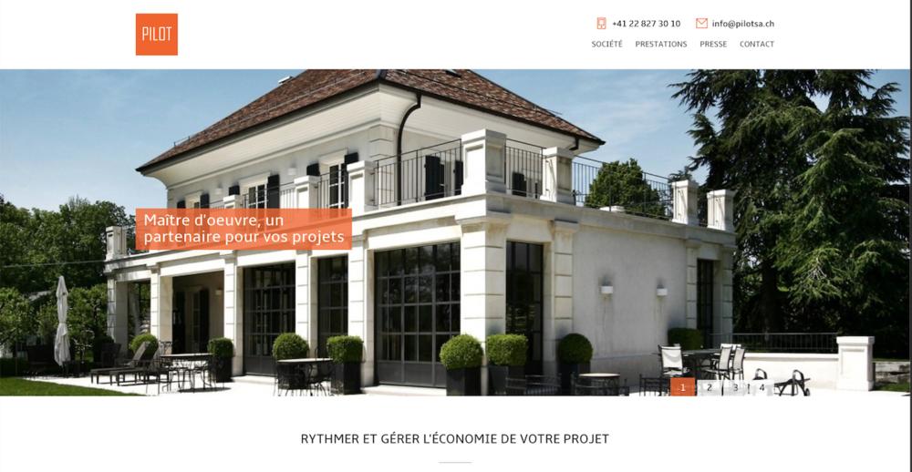 Pilot SA Architectes Genève