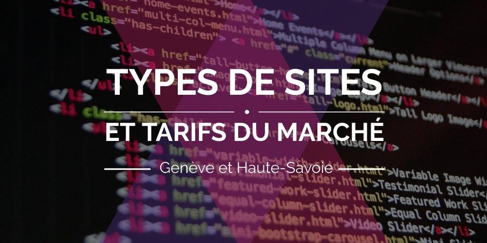 Les différents types de sites et quels sont leurs tarifs sur le marché à Annemasse et Genève
