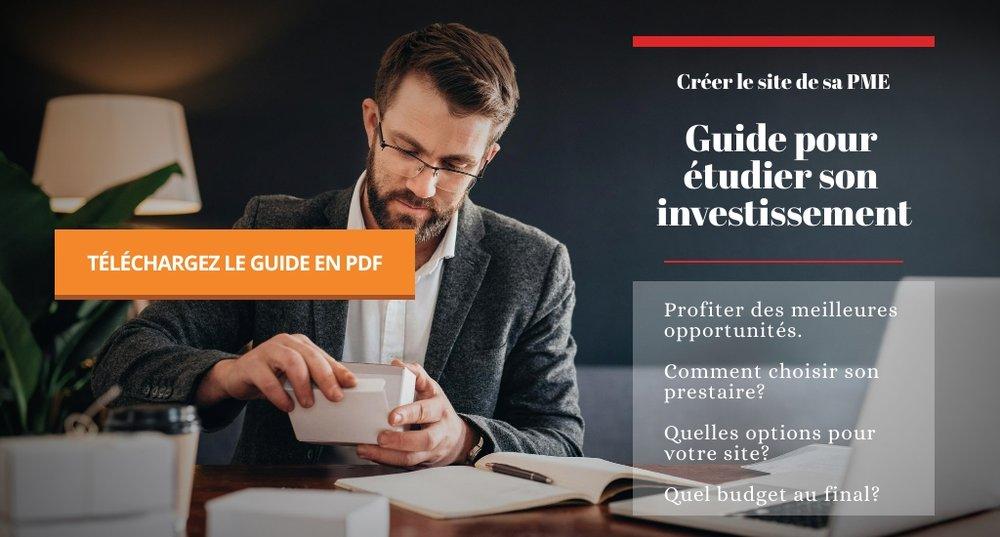 Guide gratuit - Créer le site de votre entreprise