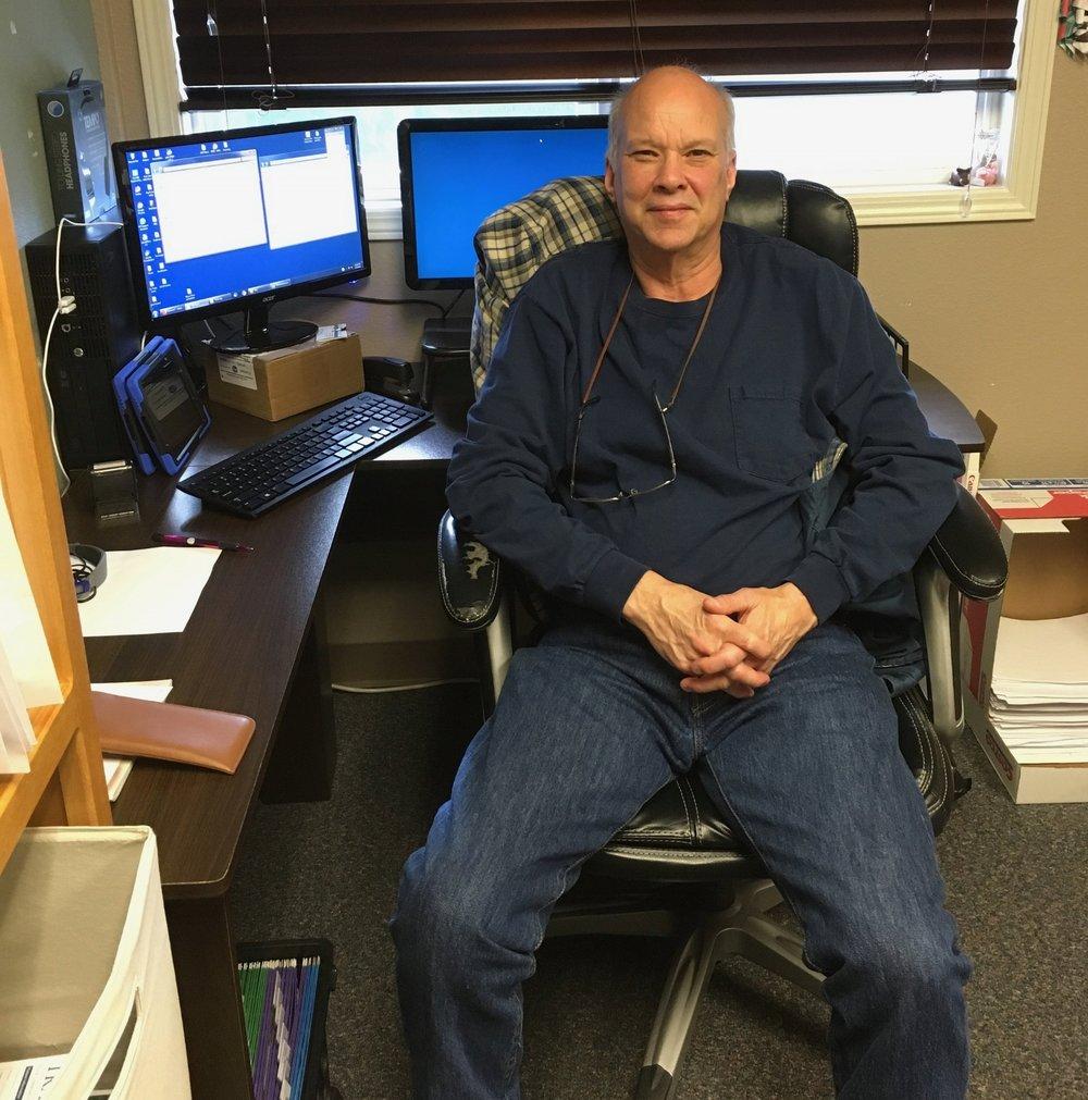 Paul, sitting in Jenn's office