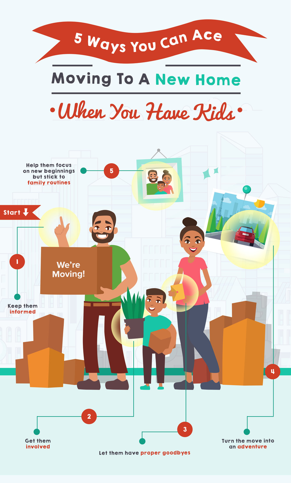 5 Ways You Can Ace Moving To A New Home When You Have Kids