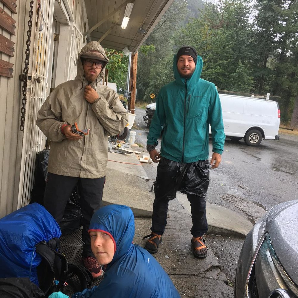 Alex, Vice, and Cedar so stoked to be road walking right now, Photo Credit: Boathouse/Bryant Nagelson