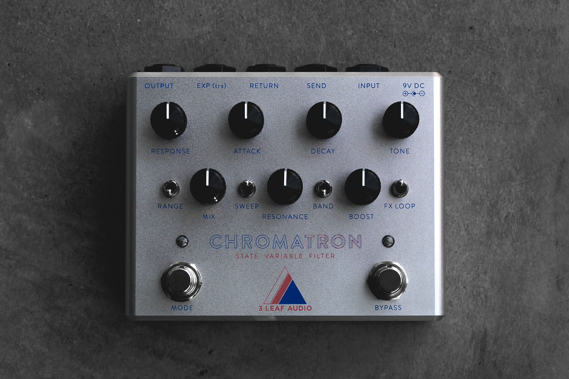 3 Leaf Audio Chromatron State Variable Filter Electric Guitar Effects Pedal Wah