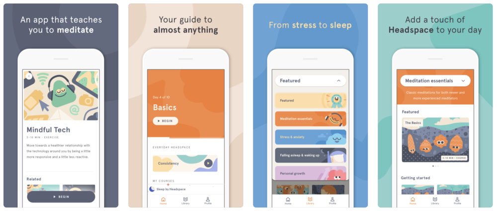 Mindful Momentum's Top 5 Meditation Apps - HEadspace