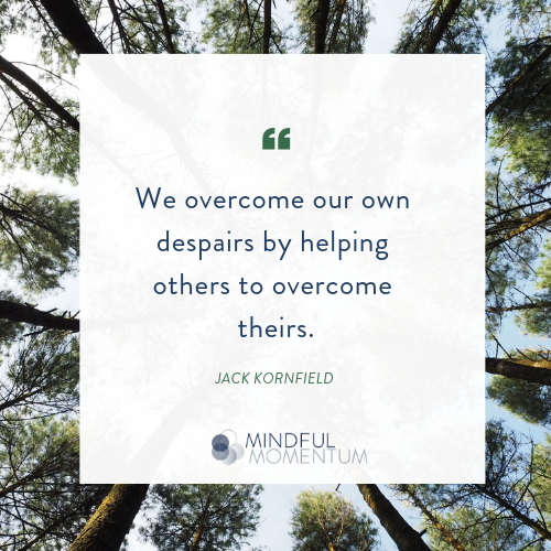 We overcome our own despairs by helping others to overcome theirs..png