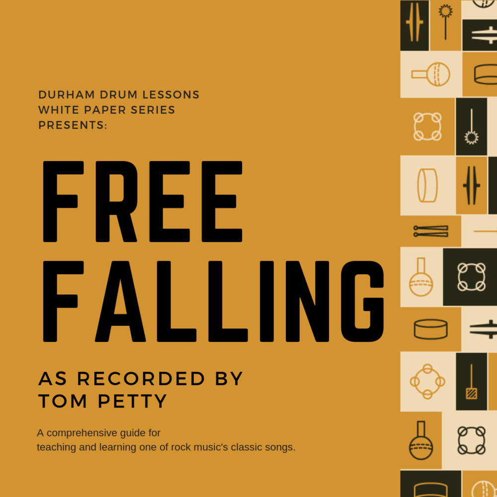 Free Falling Drum Transcription and Teaching Guide