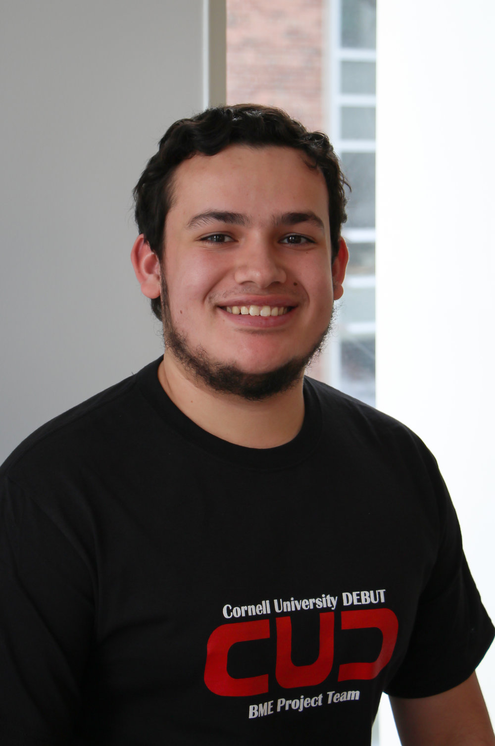 Andres is a junior majoring in Applied Economics and Management with concentrations in both strategy and finance. Outside of DEBUT, he is a Meinig Scholar and a TA for AEM 2240: Finance. He's from El Paso, Texas and enjoys sports (basketball, soccer, football), video games, and video games about sports.  Andres' favorite thing about DEBUT is the entire process that begins with brainstorming many possible ideas and ends with filming a physical prototype and the impact it will have on the world!
