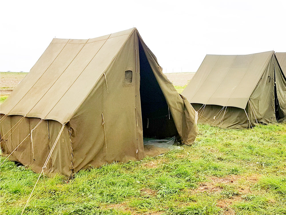 Canvas Cottage Tents for Malawi