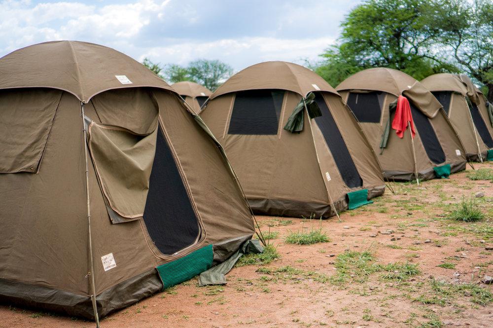Safari Bow Tent Malawi