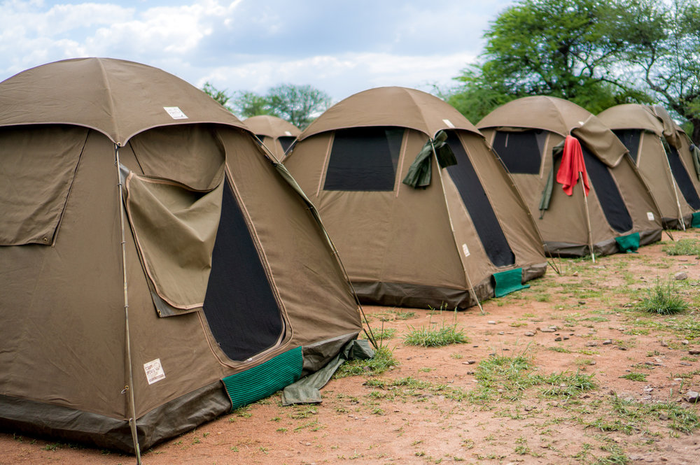 Tents and Marquees for Temporary Shelter Malawi