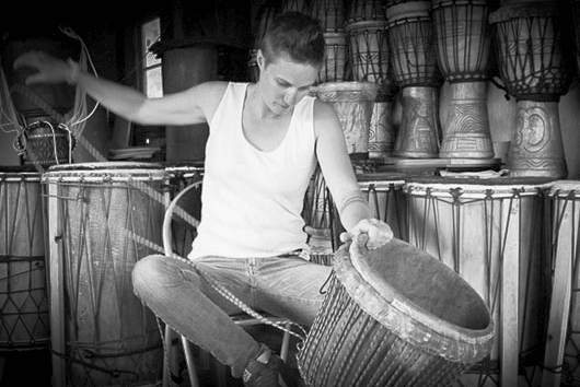 African drum making.jpg