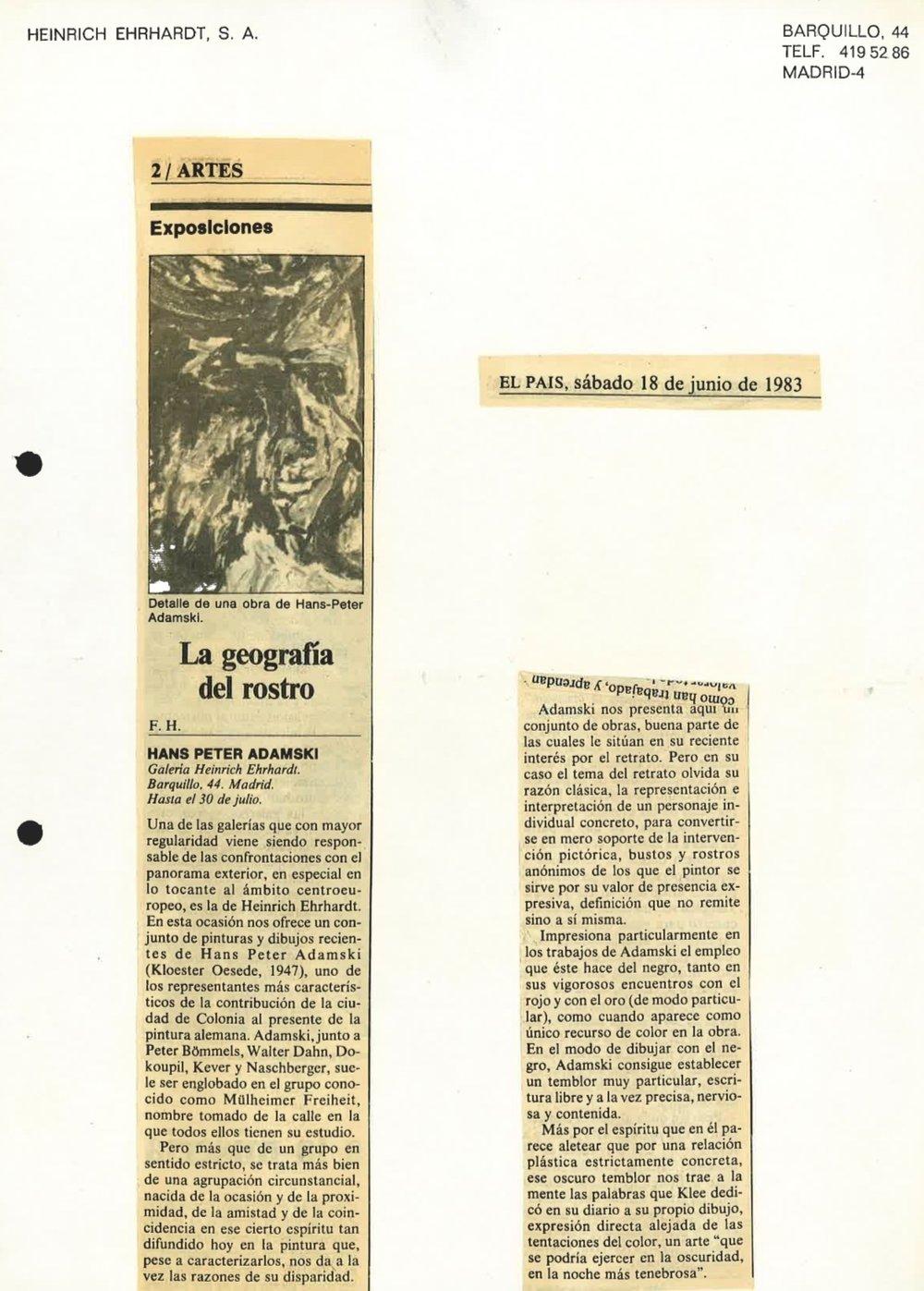 EL PAIS  1983