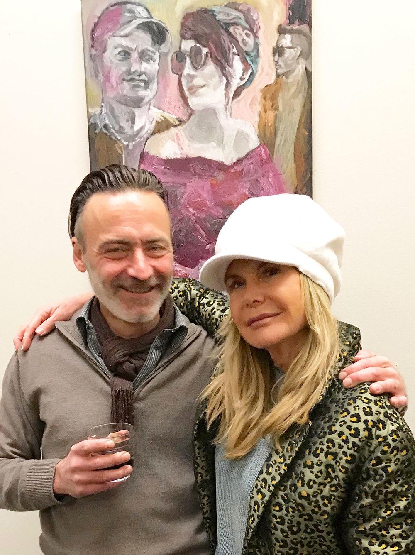 Nicolas Bischof and Elena Parris