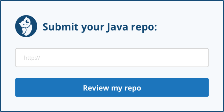 Submit your Java repo