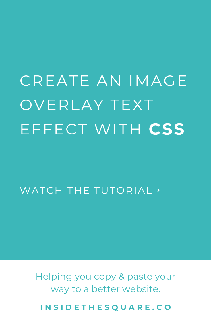 Free Weekly Tutorials on Custom CSS // Squarespace CSS