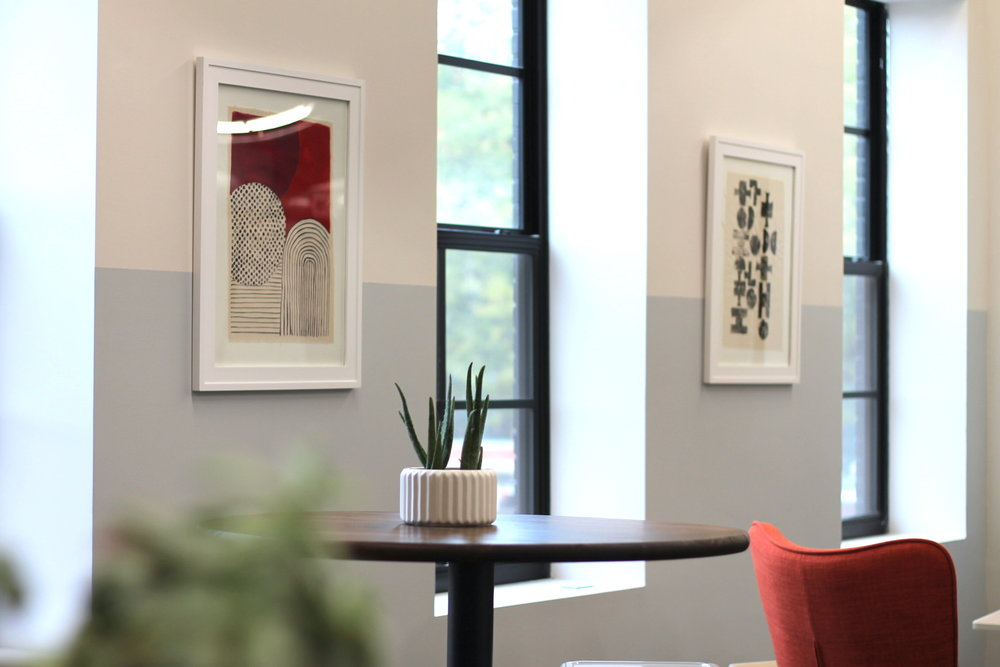Innovtion Lab - coworking flex space, artwork and plants.jpg
