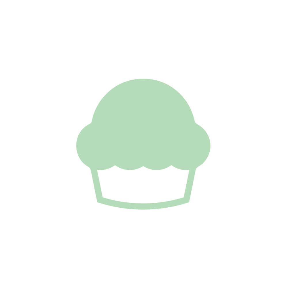 Nutrition facts (per 1 bite): muffin: 70 cal, 8 g CHO (3 g sugar, 1 g fiber), 3 g fat, 1.5 g pro  brownie: 75 cal, 10 g CHO (7 g sugar, 2g fiber), 5 g fat, 1.5 g pro