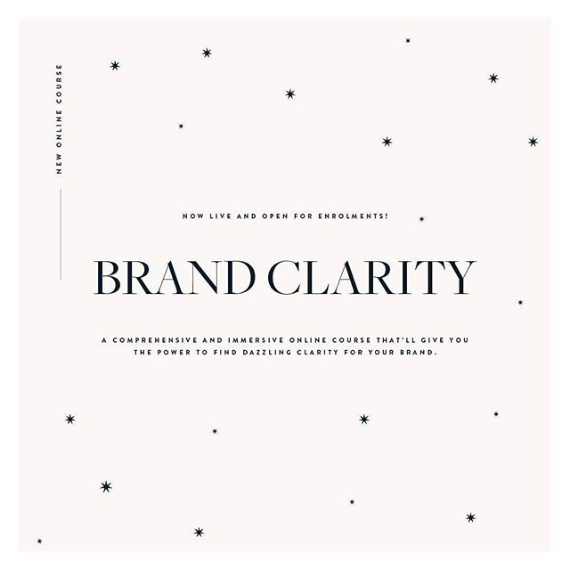 If you give your business one last gift this year, make it @thebrand_stylist 's Brand Clarity online course. Along with her second book #BrandBrilliance you'll have all the tools you need to elevate your brand to the next incredible level. . If you're branding, rebranding or just looking to refine what you have, these resources will be so powerful for you and they'll enable you to brief your designer with sheer confidence. . Don't miss the incredible £100 off deal available before 31st December. What are you waiting for?! 🌟🌟🌟 . #Repost from @thebrand_stylist ... ✨Ok lovelies, can we just take a moment to pull out *all* the sparkles? ✨  My latest online course, Brand Clarity is now live and I am so excited to share it with you.  It's going to give you the power to find dazzling clarity for your brand: something that's an absolute pre-requisite for running a successful business.  This course takes you really deeply into what your brand is, who you want to be working with and most importantly, what sets you apart.  It's essential for those of you rebranding or launching a new project in the year. And it'll give huge reassurance to those of you who love to have this stuff nailed down.  To celebrate the launch of this class, I'm giving you a whacking great £100 off before New Year's Eve, so enrol now, start whenever suits and work at your own pace. Definitely worth signing up now though before festive madness takes over as this will be the lowest you'll ever be able to enrol for (£250 before 31 Dec)  Enjoy lovelies. Cannot WAIT to see what you think. I'm off to celebrate now xxx  #inspiredentrepreneur #empoweredentrepreneur #newcourselaunching