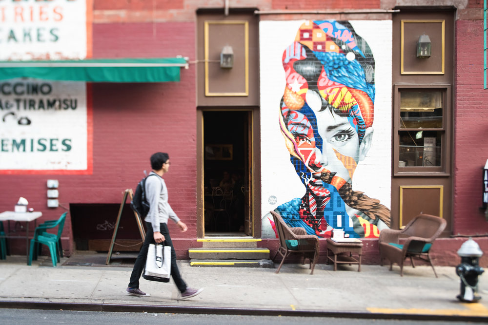 DeniseLaurinaitisNewYorkCityStreetPhotographerAudreyRedGreenManWalking.jpg