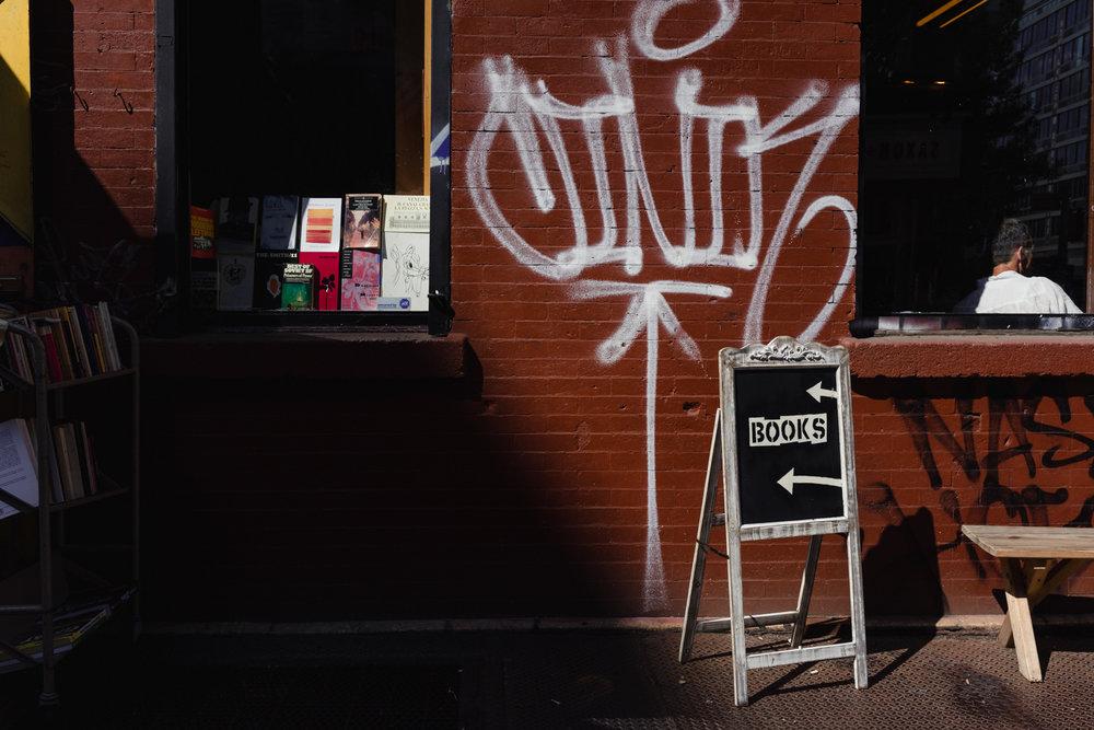 DeniseLaurinaitisNewYorkCityStreetPhotographerGraffitiBooks.jpg