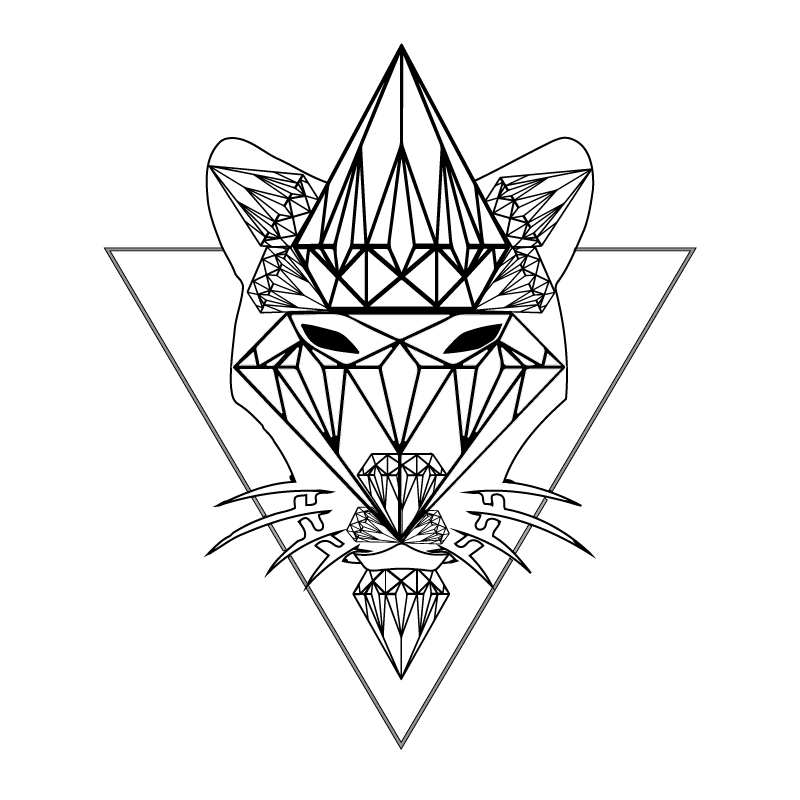 Half Moon Diamond Panther Studio