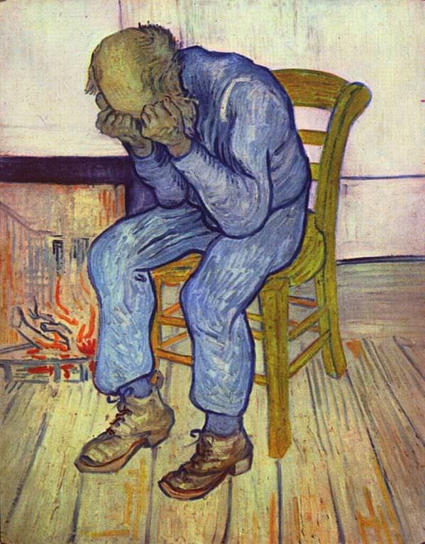 At Eternity's Gate, Van Gogh 1890