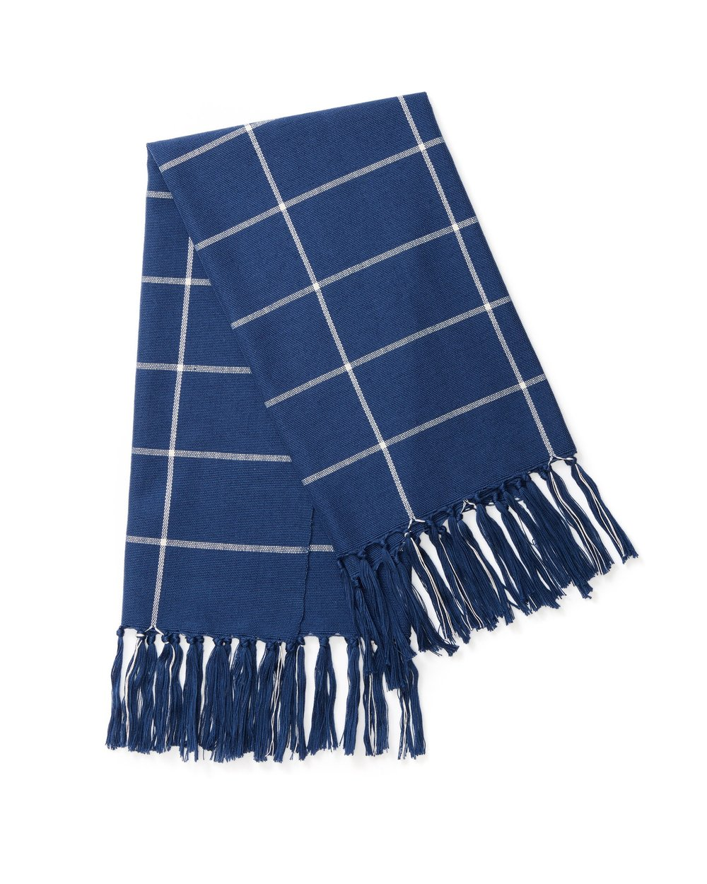 TEA TOWEL - INDIGO GRID  $28.00