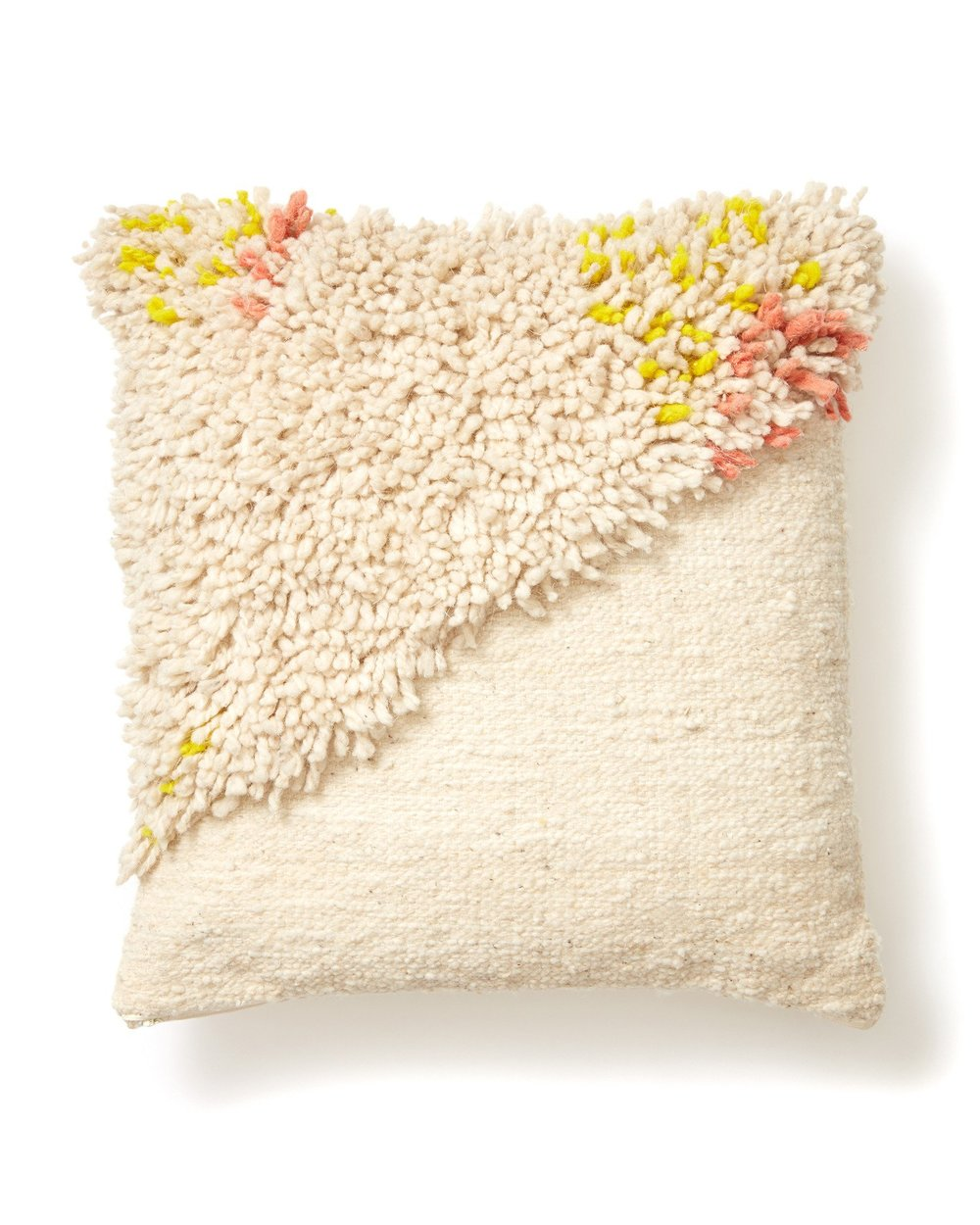 SPLIT SHAG PILLOW  $215.00
