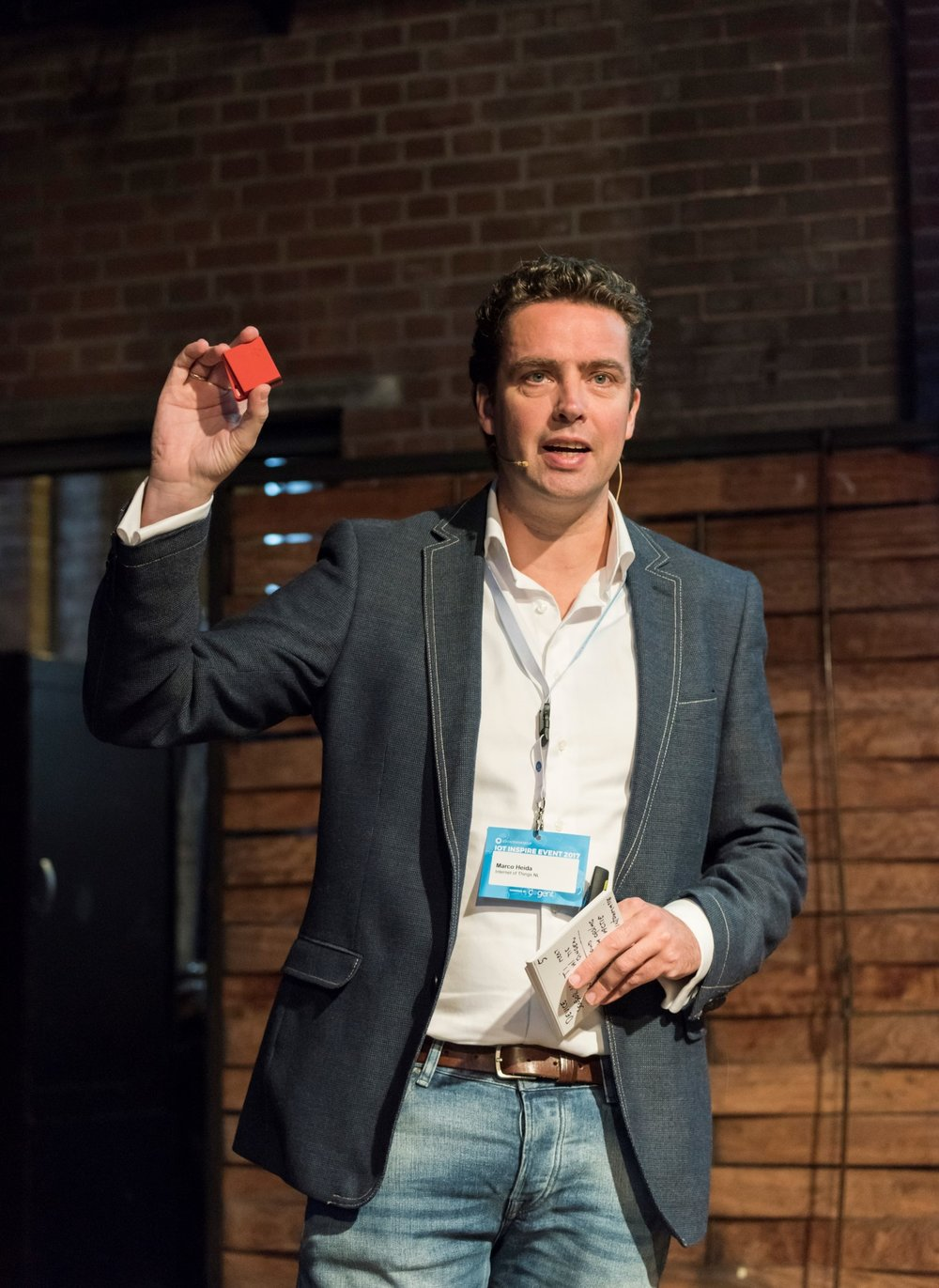 Marco as keynote speaker