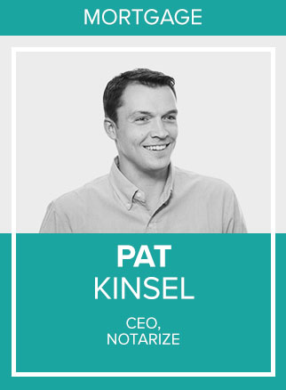 - Pat Kinsel is the Founder and CEO of Notarize, the first platform to empower thousands of people each day to sign and notarize documents online.Click for more
