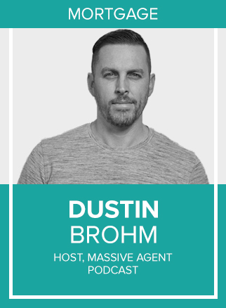 - Dustin is the host of the popular Massive Agent Podcast and the Alexa Flash Briefing, the Massive Agent Minute, for real estate agents and loan officers.Click for more
