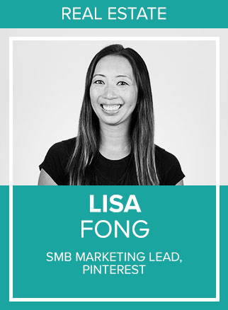 - Lisa Fong leads the Pinterest SMB Marketing team focused on inspiring and empowering businesses to grow and succeed on Pinterest. She has over 12 years of experience in digital advertising, technology and marketing. Her passion for mobile ads led her career to adtech companies Google, Apple and Sharethrough. She received her MBA from the Kellogg School of Management.